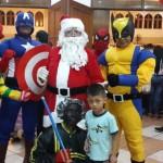 Santa Claus bersama para Badut surabaya dan Sidoarjo